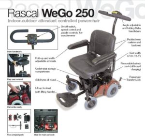 Features of Rascal We-Go 250